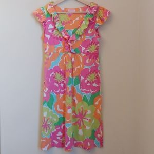 Lilly Pulitzer Clare First Impression Floral Dress